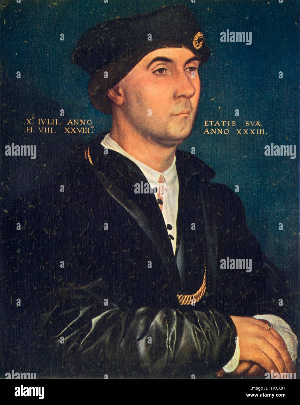 'Sir Richard Southwell', 1536, (1909).  Artist: Hans Holbein the Younger. - Stock Image