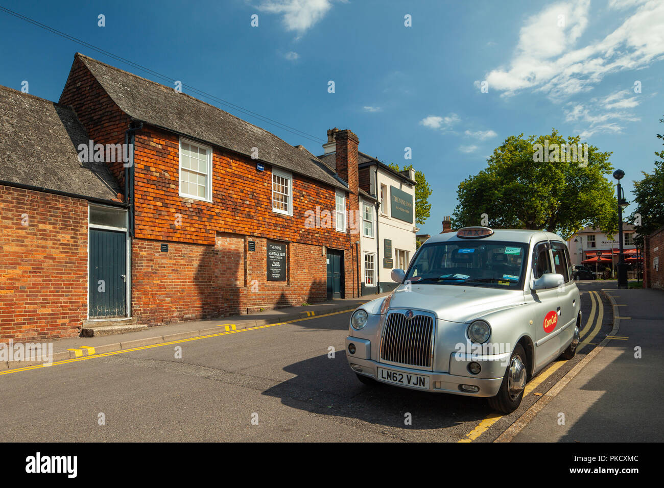 Late summer afternoon in Tenterden, Kent, England. - Stock Image