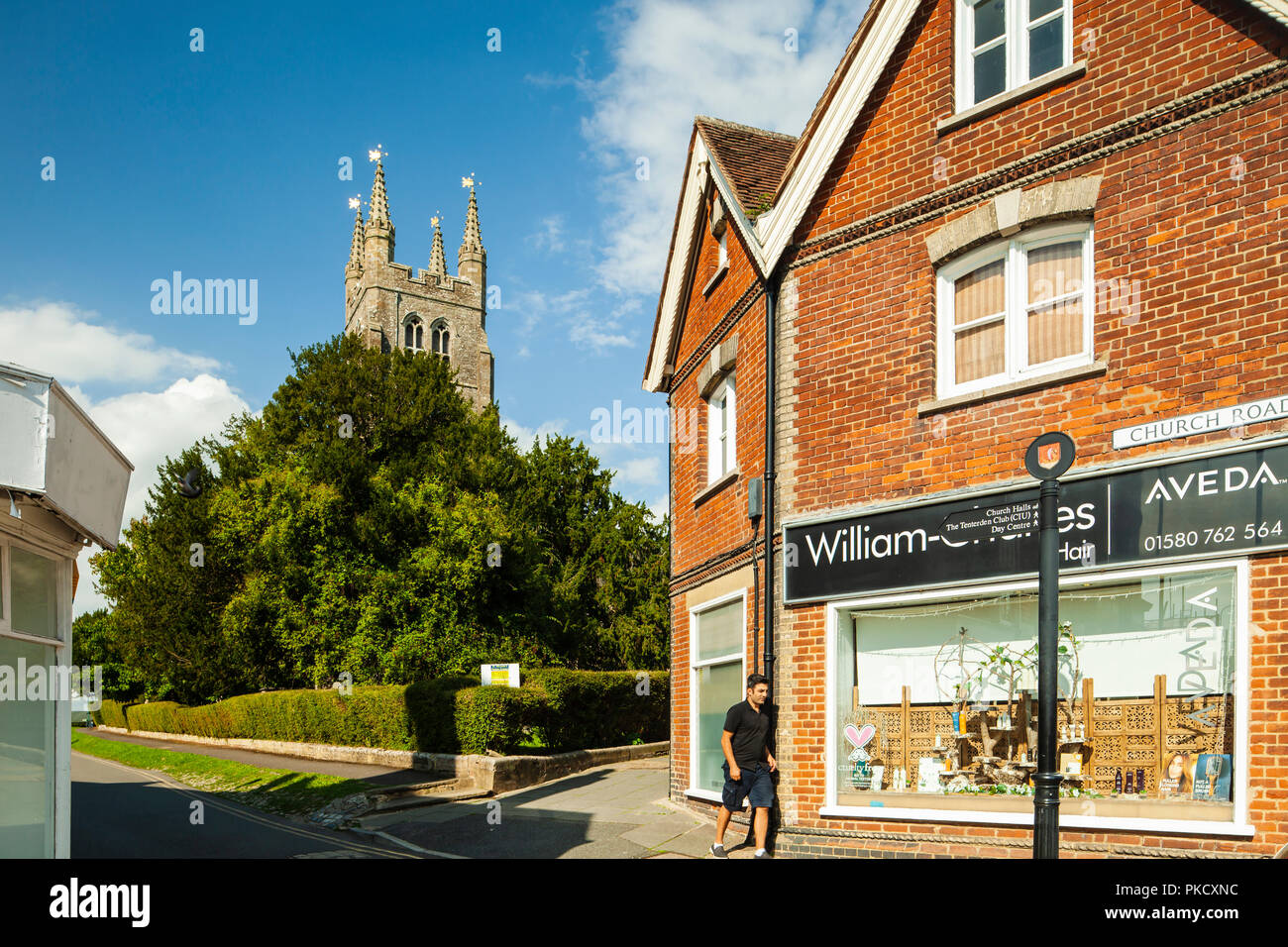Summer afternoon in Tenterden, Kent, England. - Stock Image