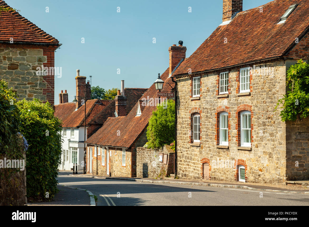 Summer afternoon in Petworth, West Sussex, England. - Stock Image