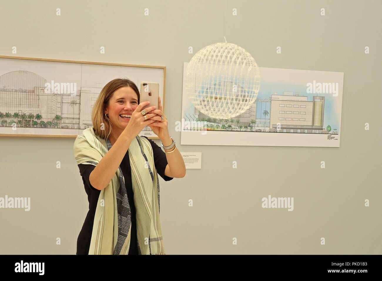 Renzo Piano the Art of Making Buildings 12 September 2018 Stock Photo