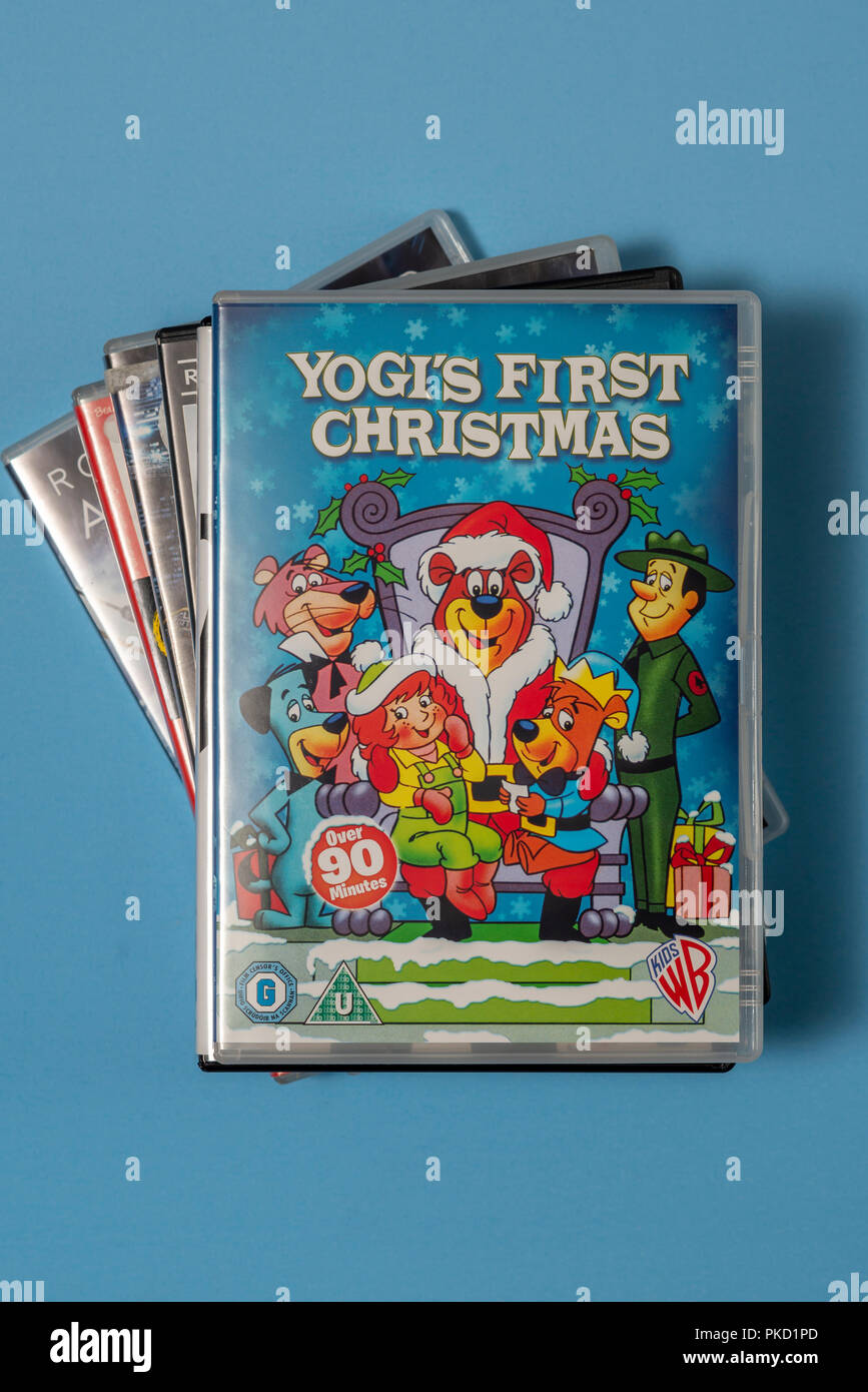 Yogis First Christmas.Dvd Of The Movie Yogi S First Christmas In A Case With
