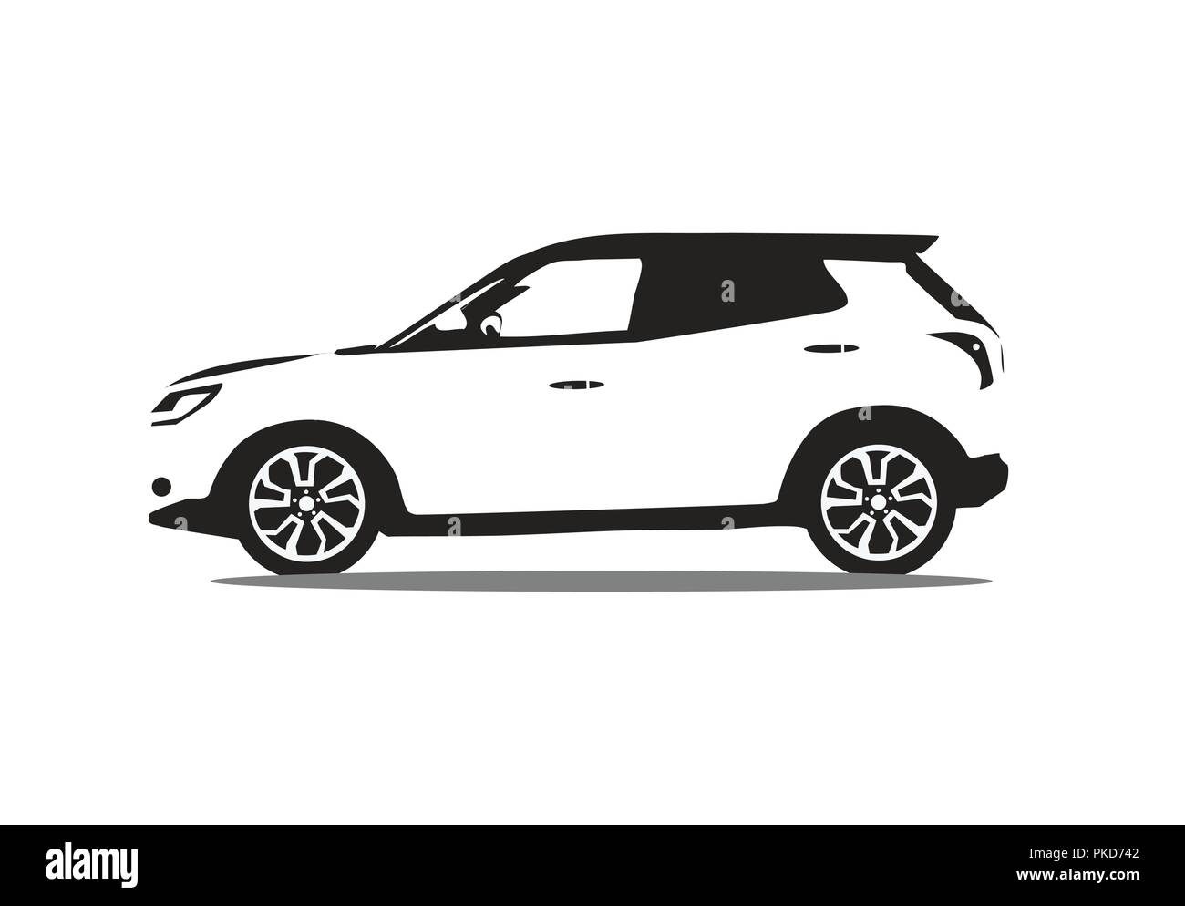Automotive Car Logo Vector Design Creative Concept With Sports Car