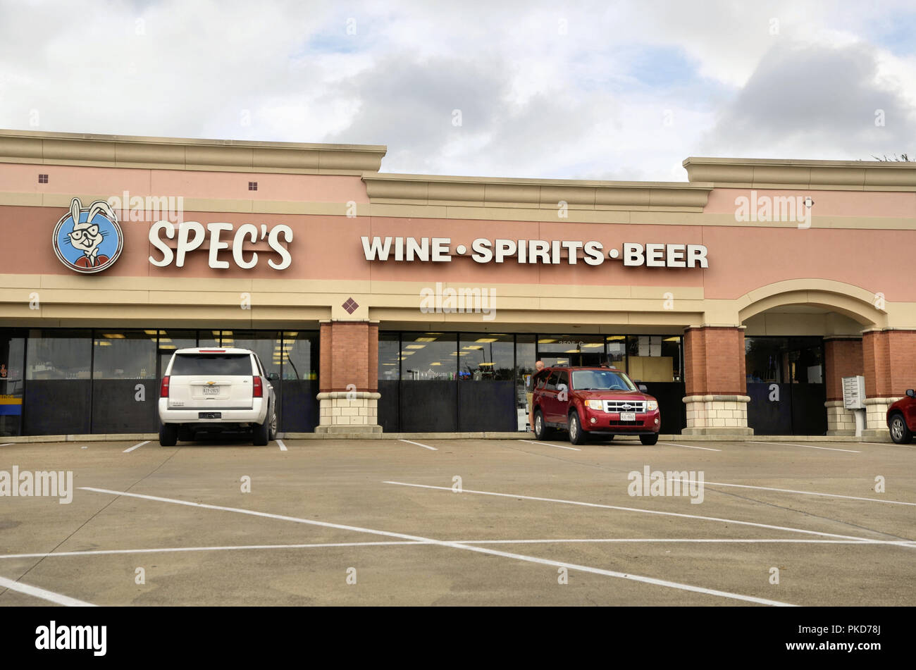 Spec's Wine, Spirits, and Beer store front in College