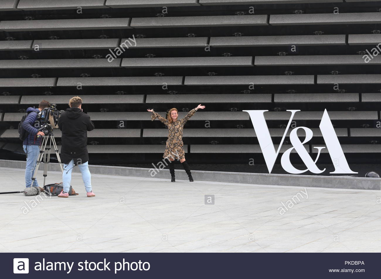 Press day at V&A Design Museum Dundee Scotland  12th September 2018 - Stock Image