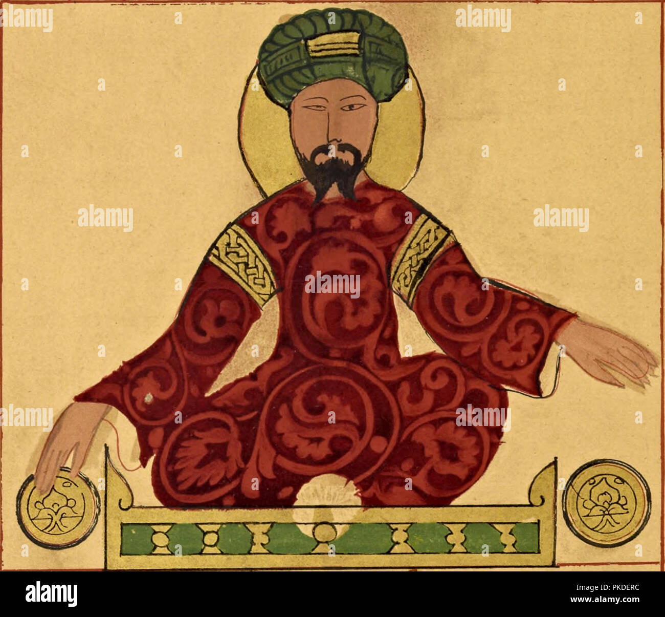 Saladin, Salah ad-Din or Saladin (1137 – 1193), first sultan of Egypt and Syria and the founder of the Ayyubid dynasty - Stock Image