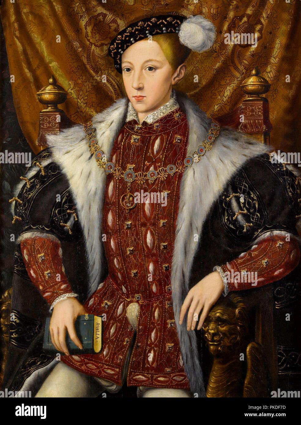 Edward VI (1537 – 1553) King of England and Ireland - Stock Image