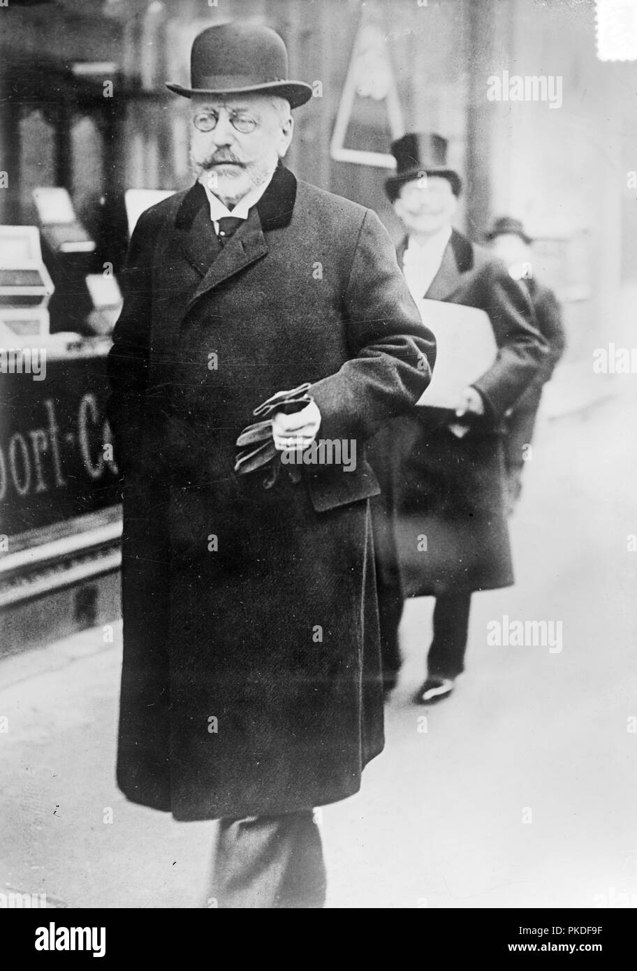 Baron Stephan Burian, Stephan Burián von Rajecz (1851 – 1922), Baron von Burian or Count Burian, Austro-Hungarian politician - Stock Image
