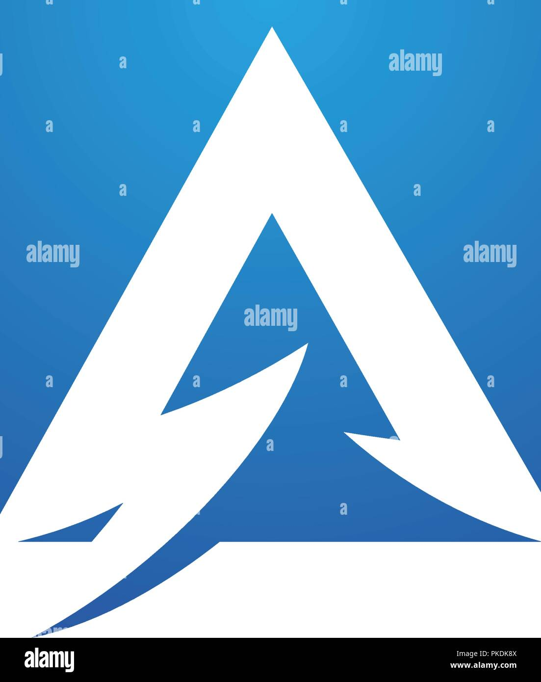 a letter lightning logo template vector icon illustration design