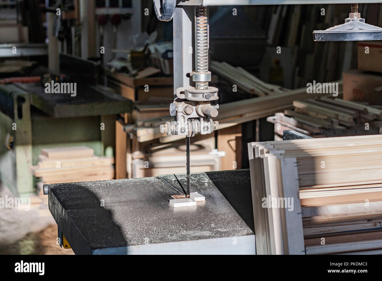 Moments In A Typical Woodworking Facility In Italy Details Of