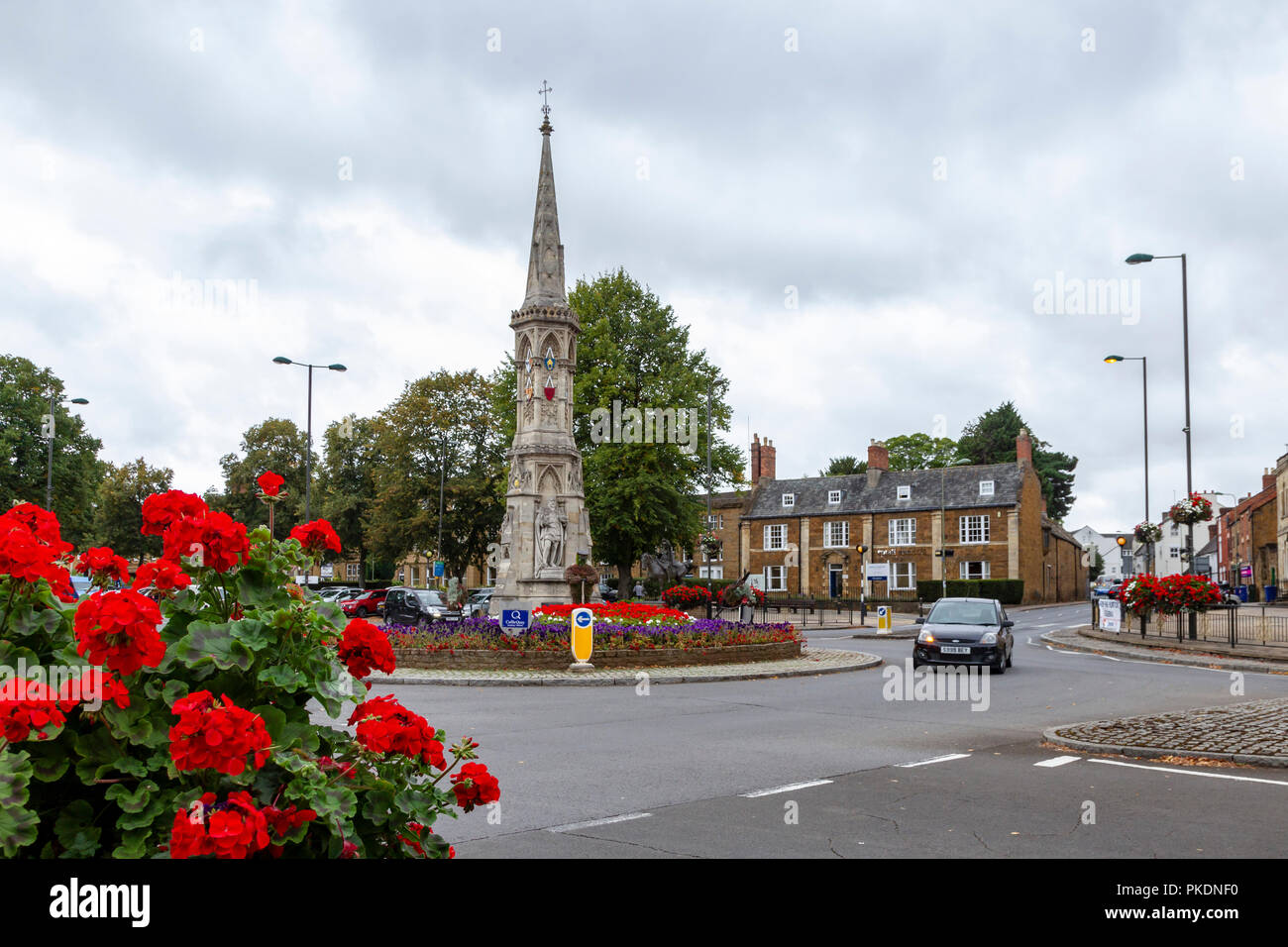 Council Offices in Banbury Oxfordshire, uk. - Stock Image