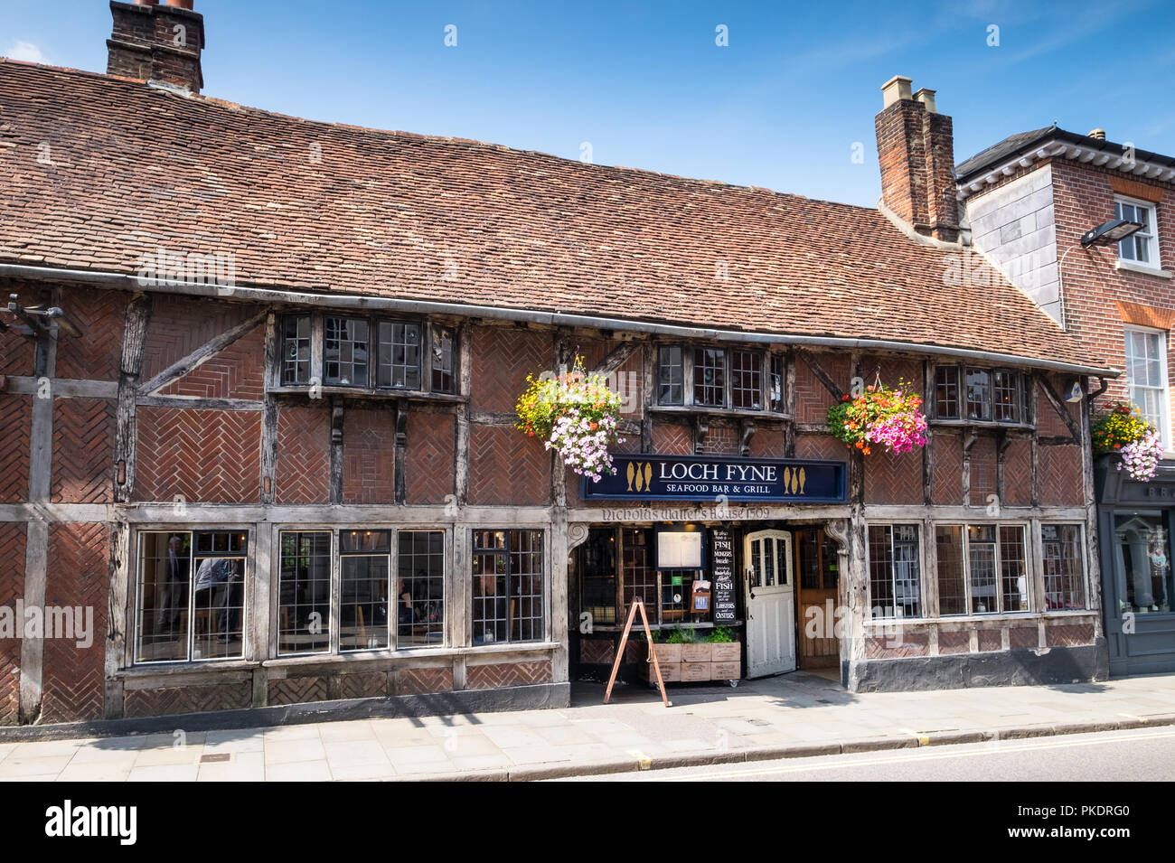 Loch Fyne Seafood And Fish Restaurant In Winchester