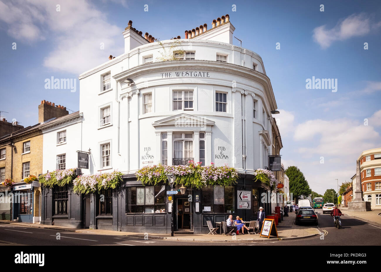 The Westgate Hotel pub in Winchester, Hampshire, UK - Stock Image