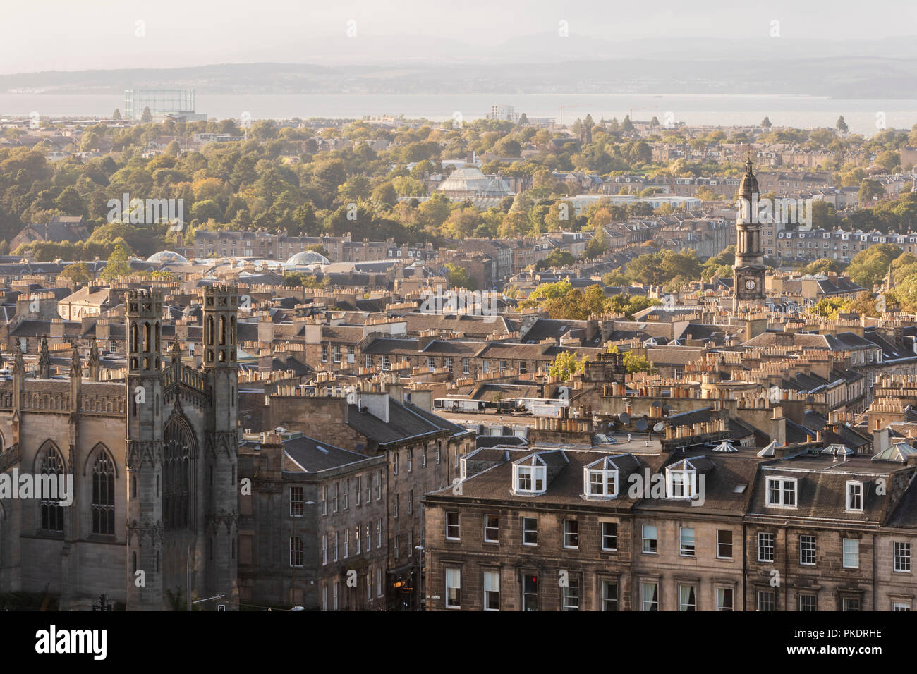 d2d312401993 St Marys Parish Church and Edinburgh skyline