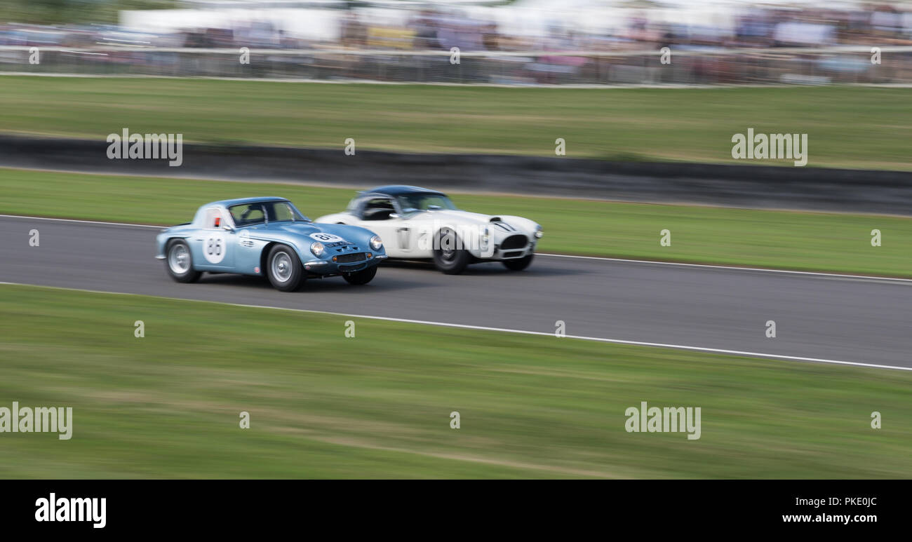 Goodwood Revival 2018 Stock Photo