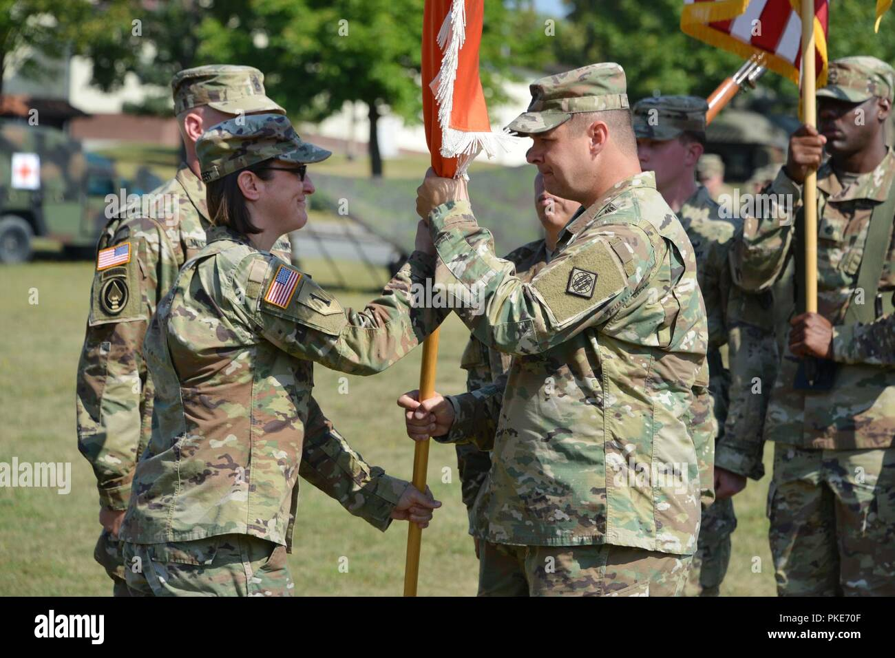 44th Expeditionary Signal Battalion High Resolution Stock Photography And Images Alamy
