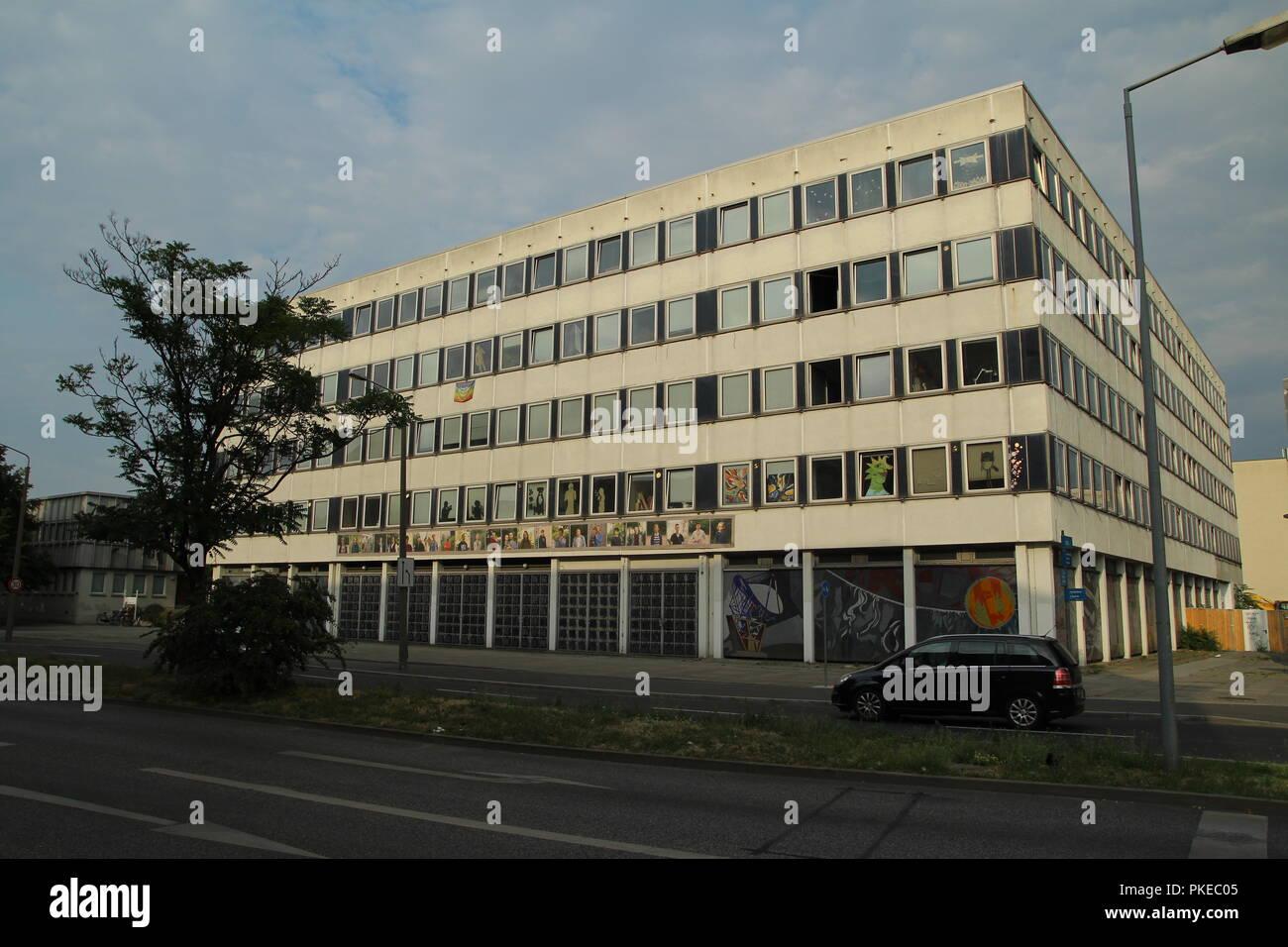 Socialist architecture in Potsdam,Germany. Stock Photo