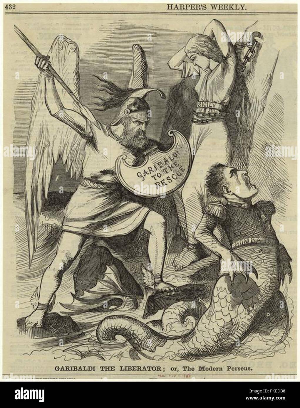 mythological scene - Stock Image