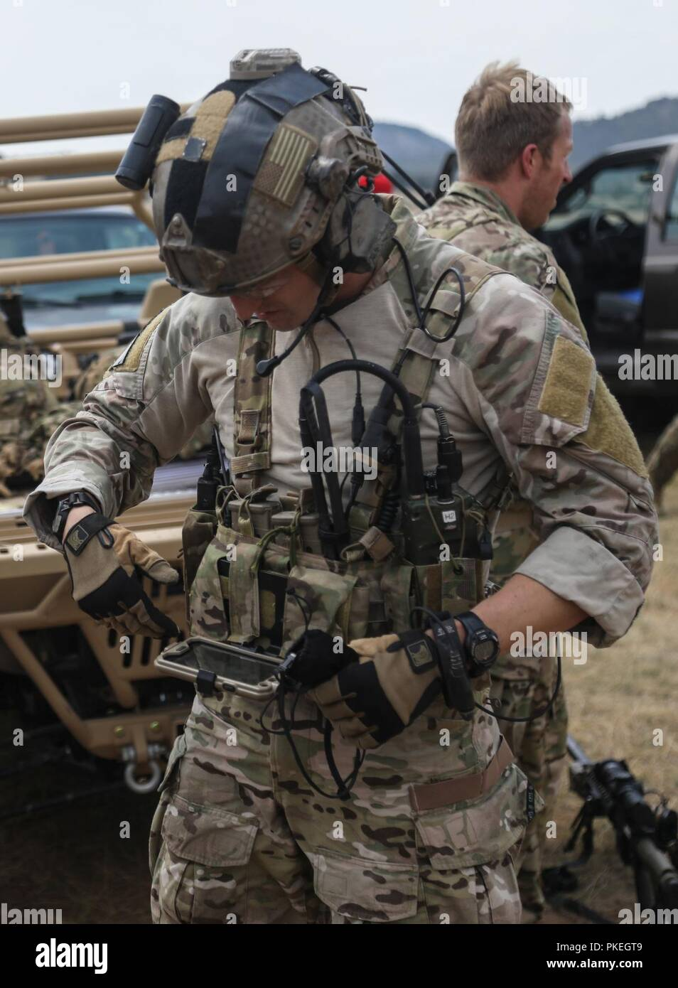 Special Forces Military Free-Fall Operations