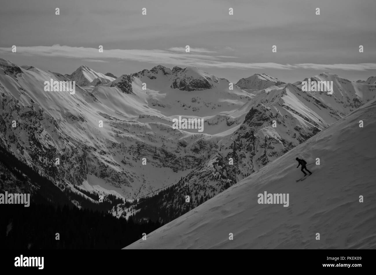 Gruenten in the Allgaeu Stock Photo