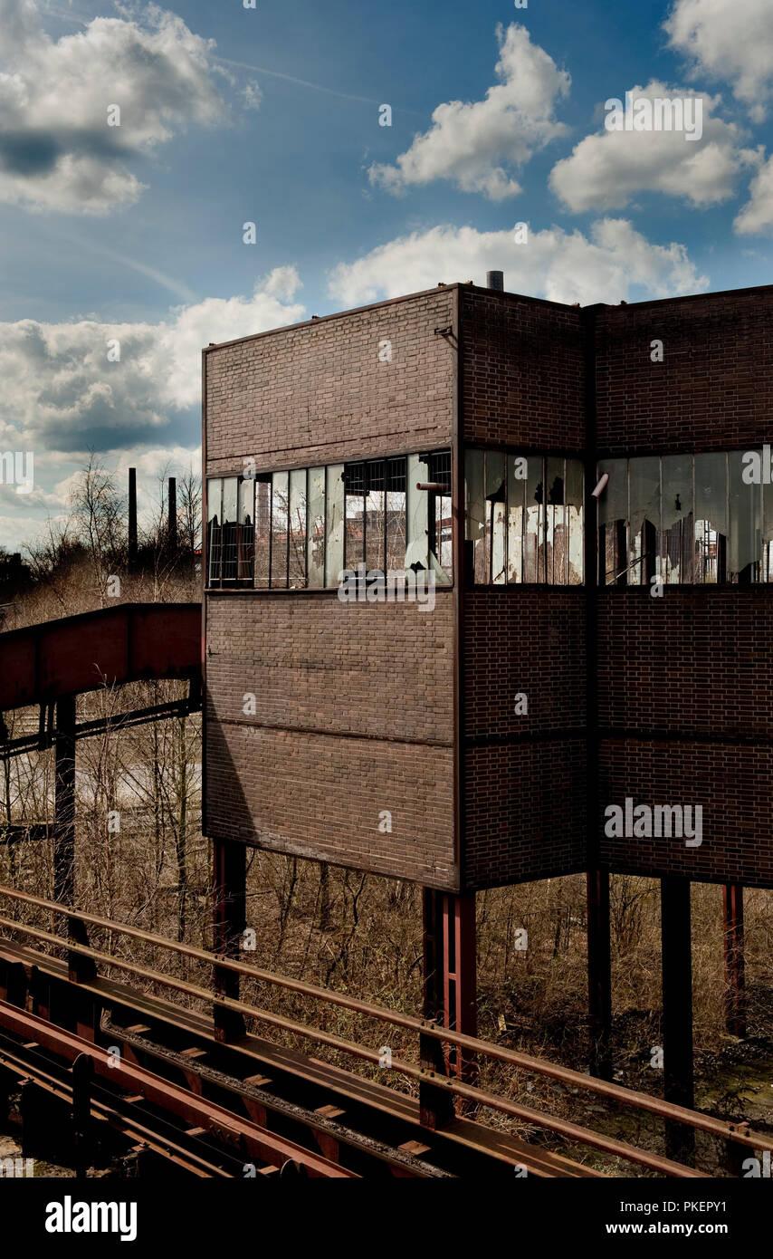 The Zollverein Coal Mine Industrial Complex in Essen (Germany, 02/04/2010) - Stock Image