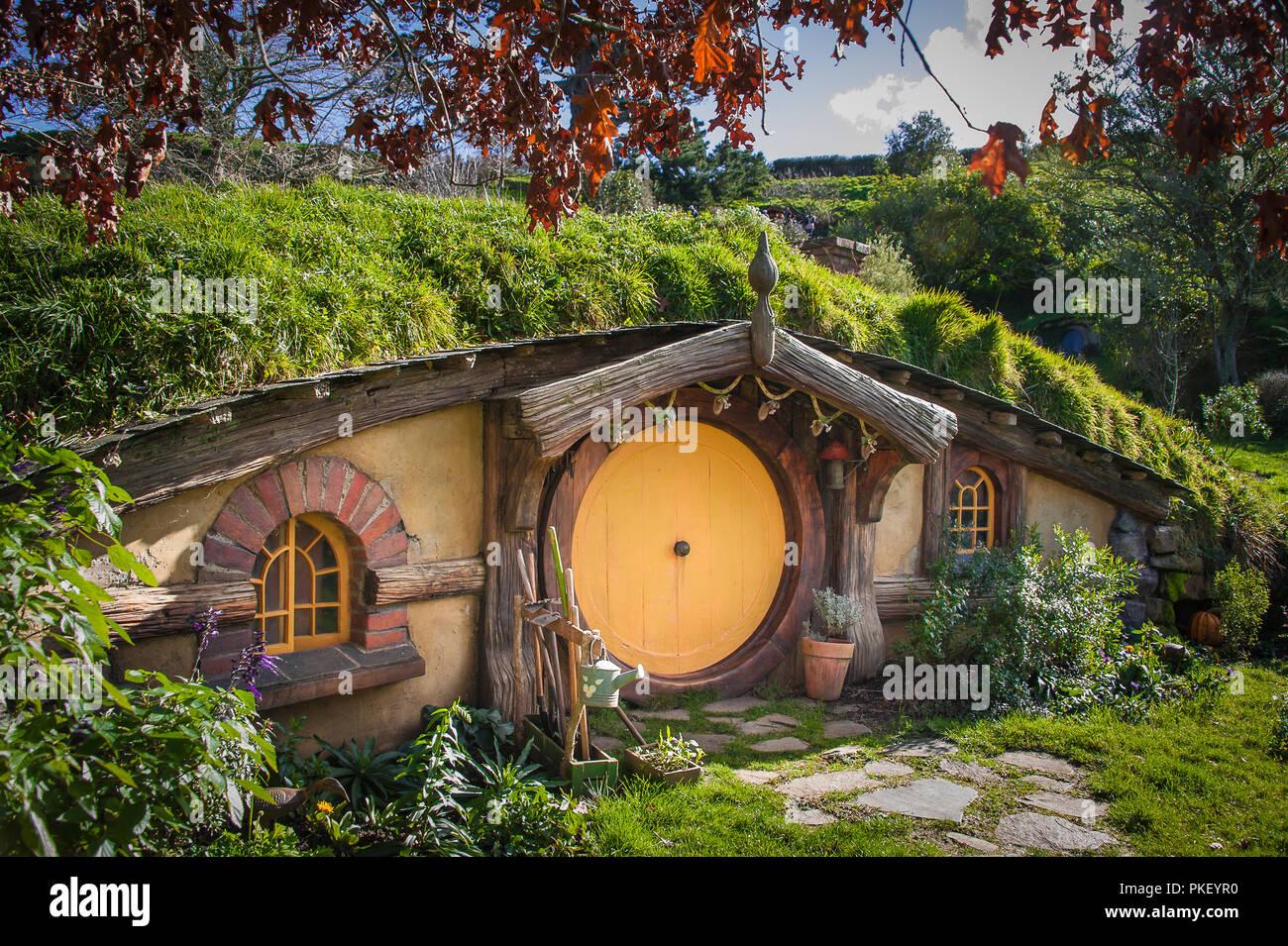 hobbit house stock photos hobbit house stock images alamy. Black Bedroom Furniture Sets. Home Design Ideas