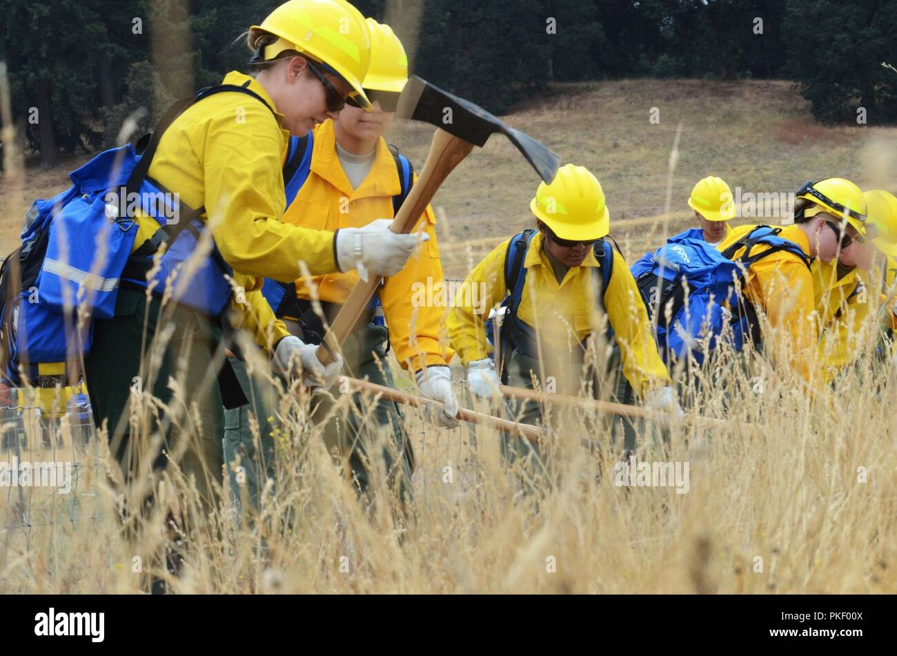 Wildland Firefighters Stock Photos Wildland Firefighters Stock