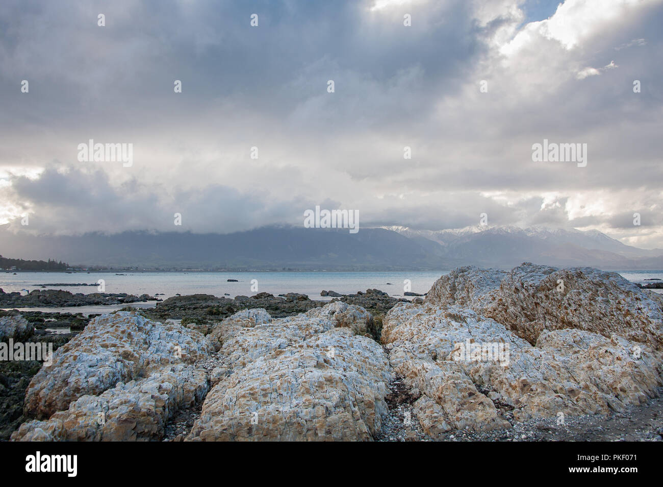 Kaikoura Landscape Canterbury New Zealand Beautiful