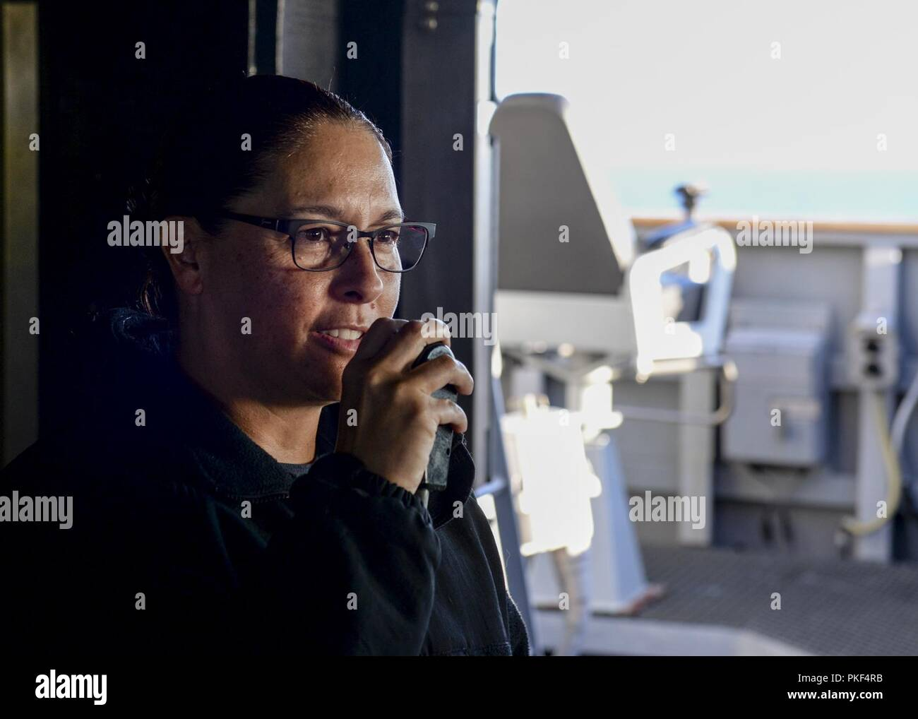 Commanding Officer Of The Uss Abraham Lincoln Stock Photos