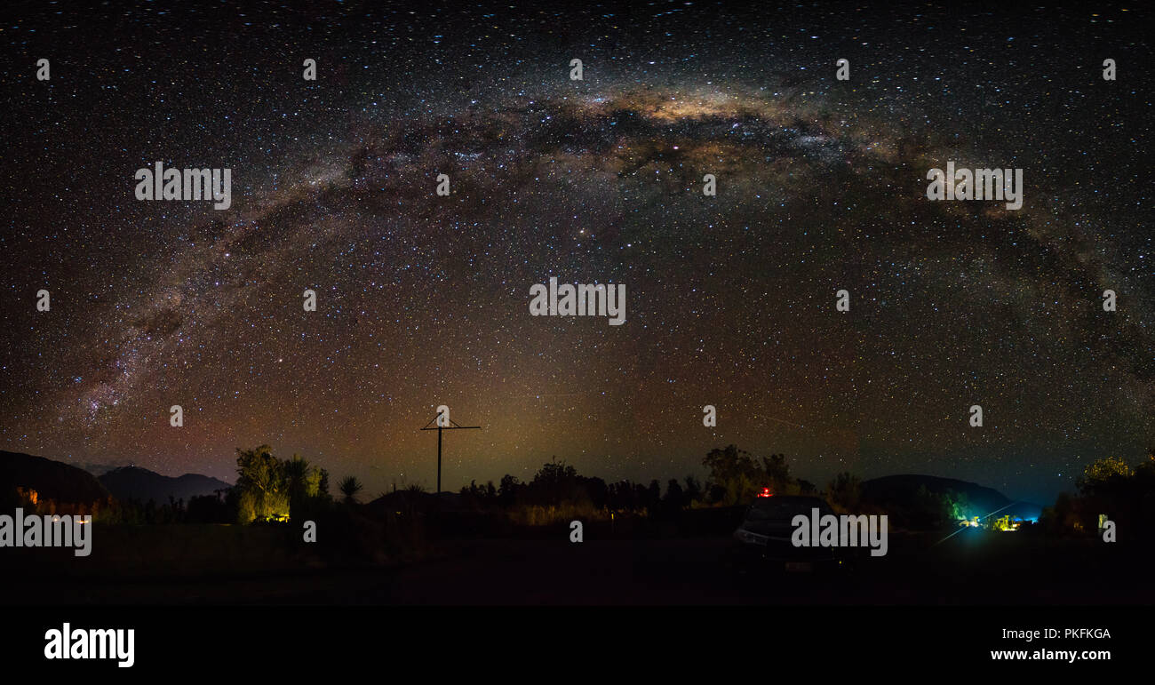 The starry sky - Stock Image