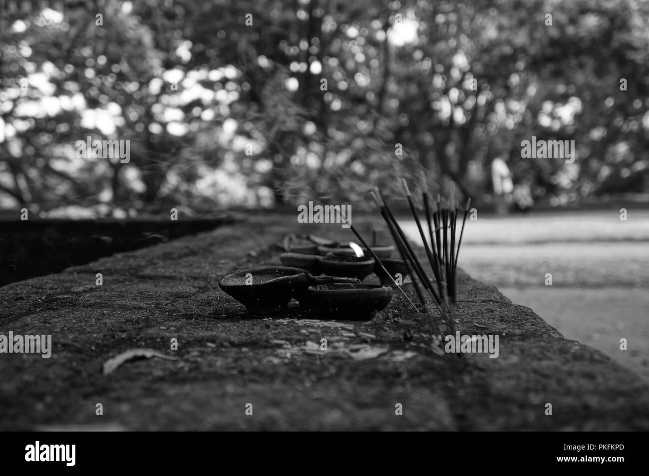 Nalanda Gedige in Sri Lanka Stock Photo