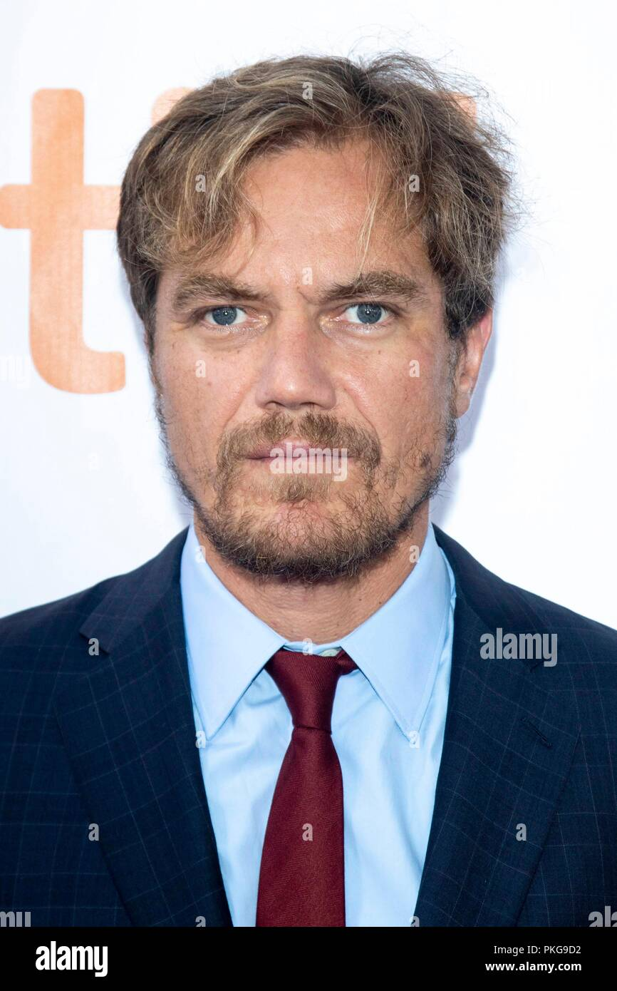 Michael Shannon attends the premiere of 'What They Said' during the 43rd Toronto International Film Festival, tiff, at Roy Thomson Hall in Toronto, Canada, on 12 September 2018. | usage worldwide Stock Photo