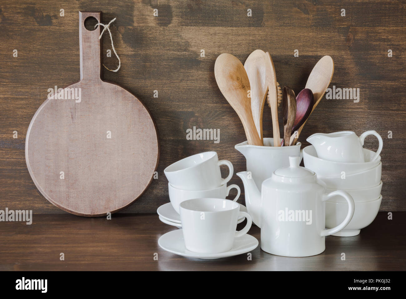 Crockery Clayware White Utensils And Other Different