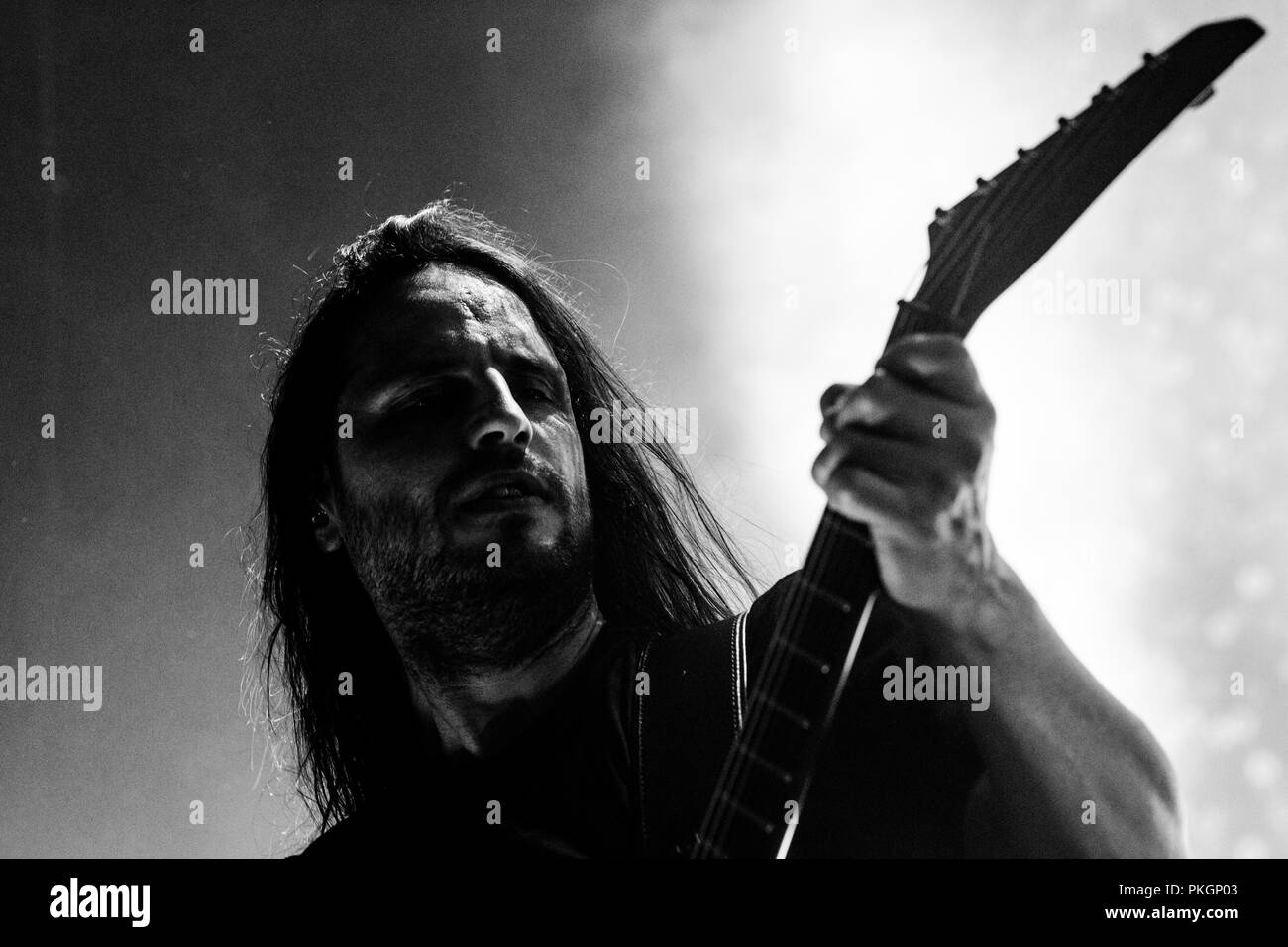 Gojira (Christian Andreu) - March 2017 - Newcastle Academy - Stock Image