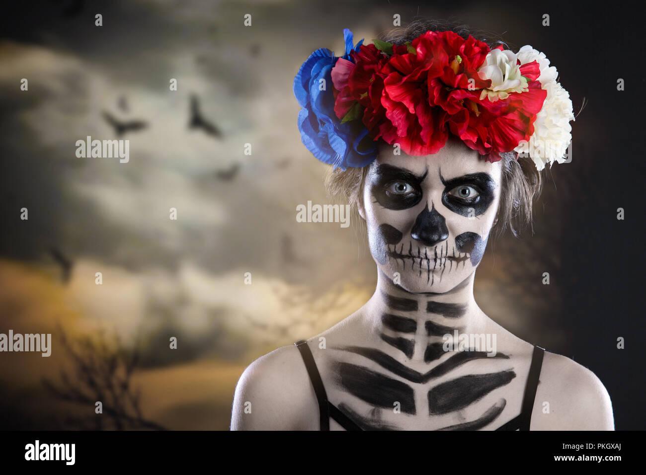 how to make horror skull