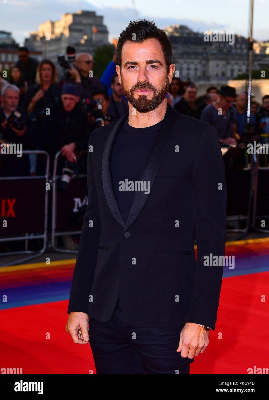 Justin Theroux attending the Maniac World Premiere at the Southbank Centre, London. - Stock Image