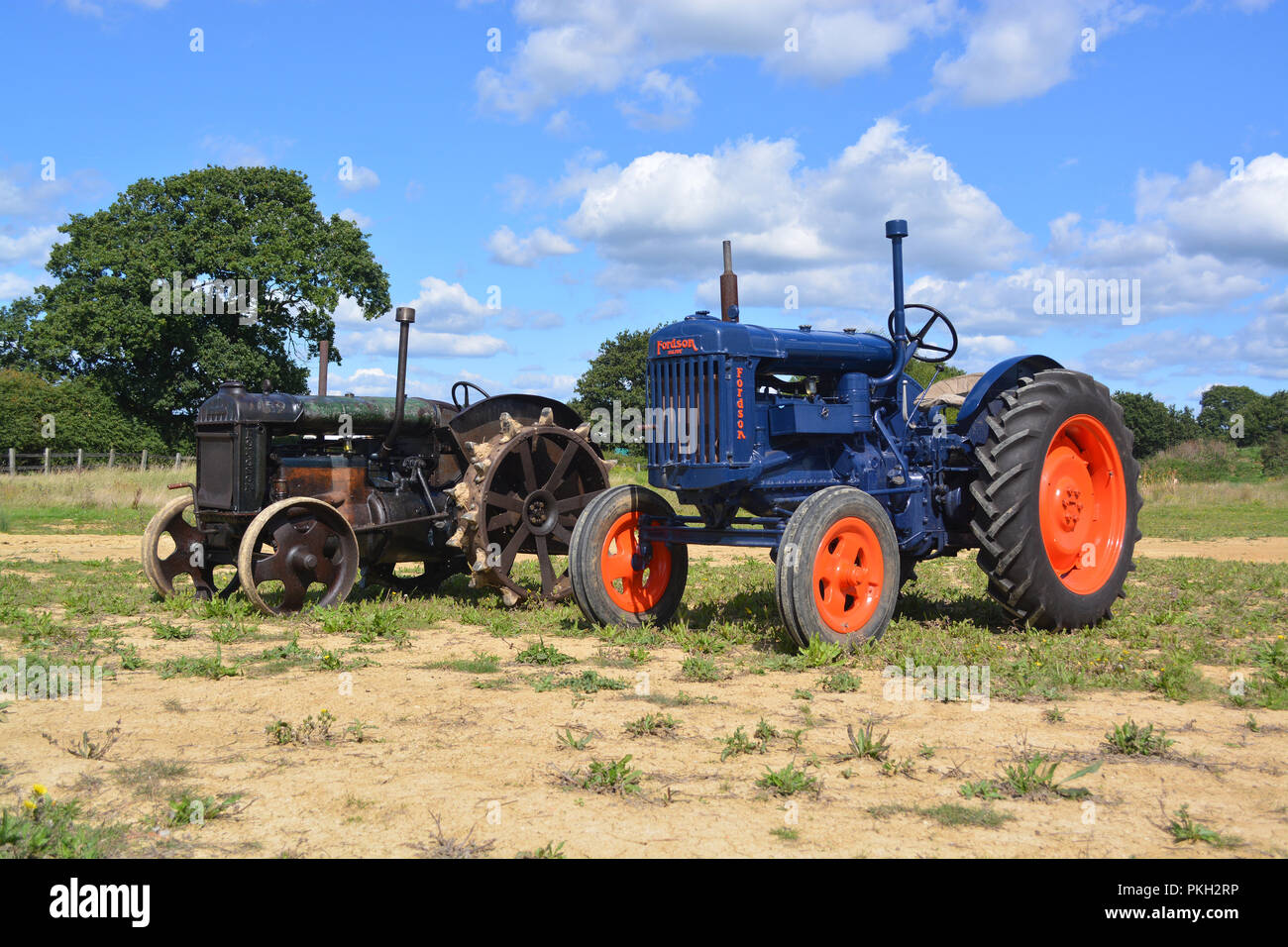1943 Fordson Standard N tractor - Stock Image