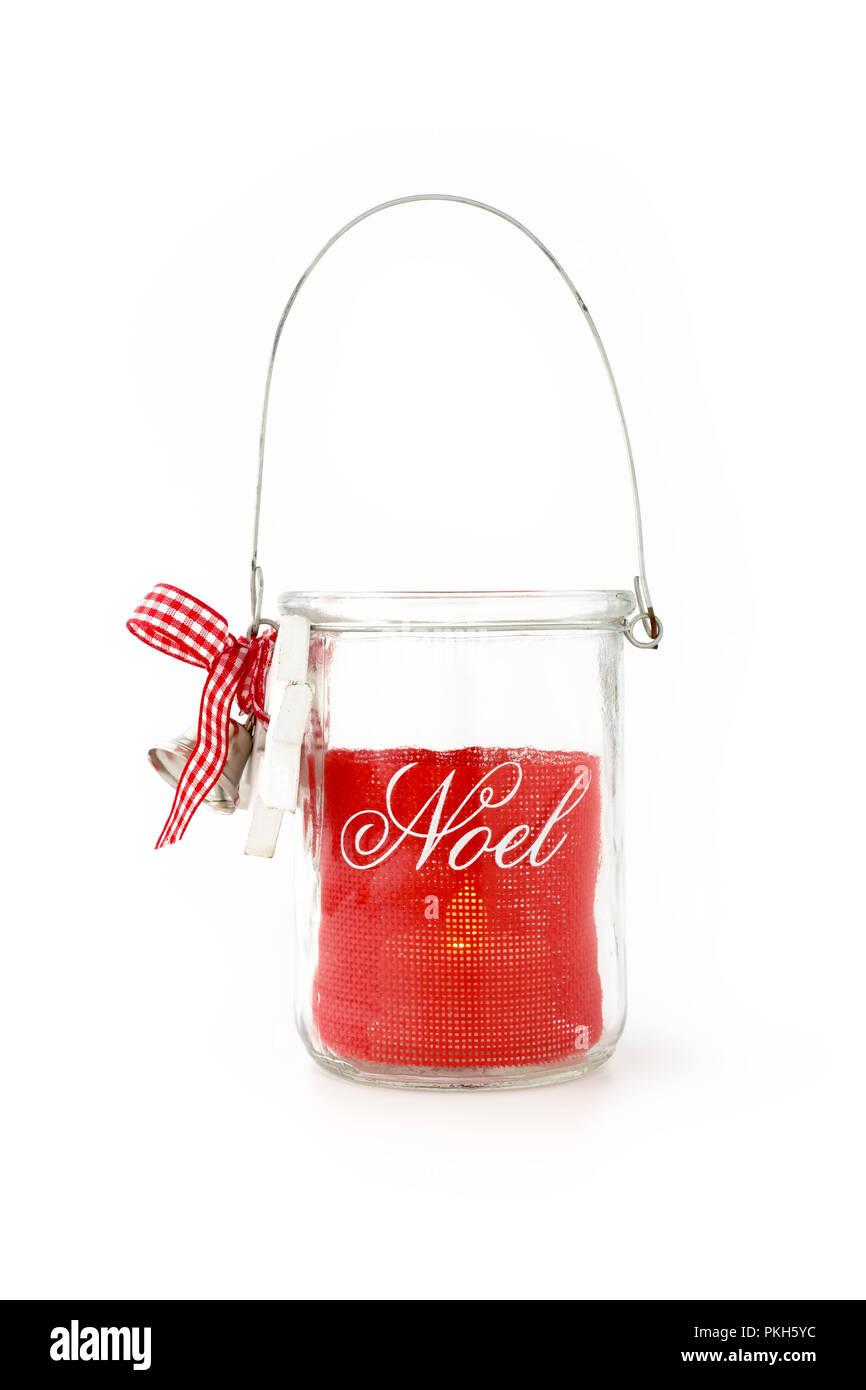 Diy Noel.Homemade Diy Glass Jar Christmas Tealight Candle Holder