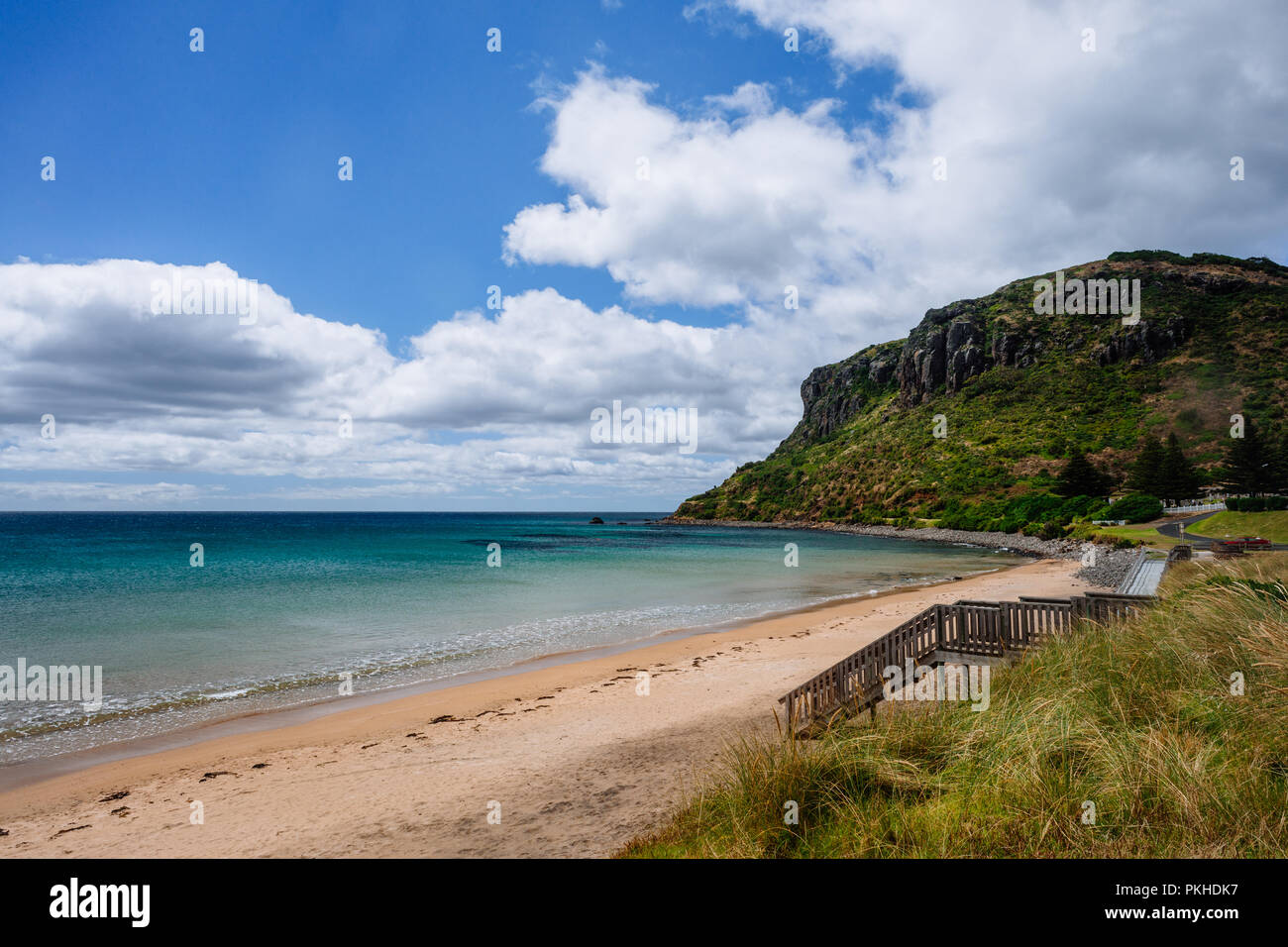 beach in north west Tasmania - Stock Image