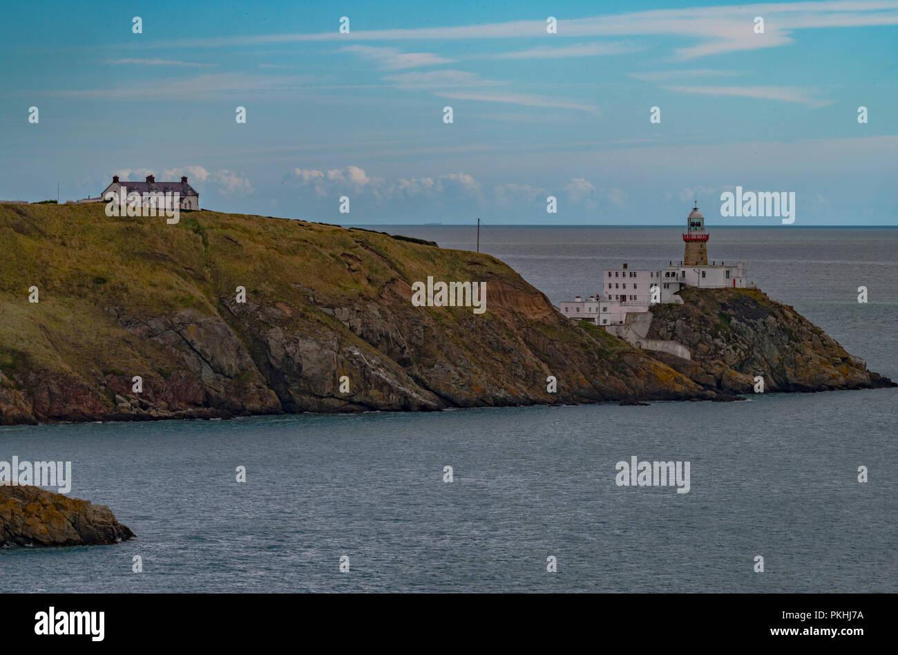 Baily Lighthouse Howth Dublin Ireland - Stock Image
