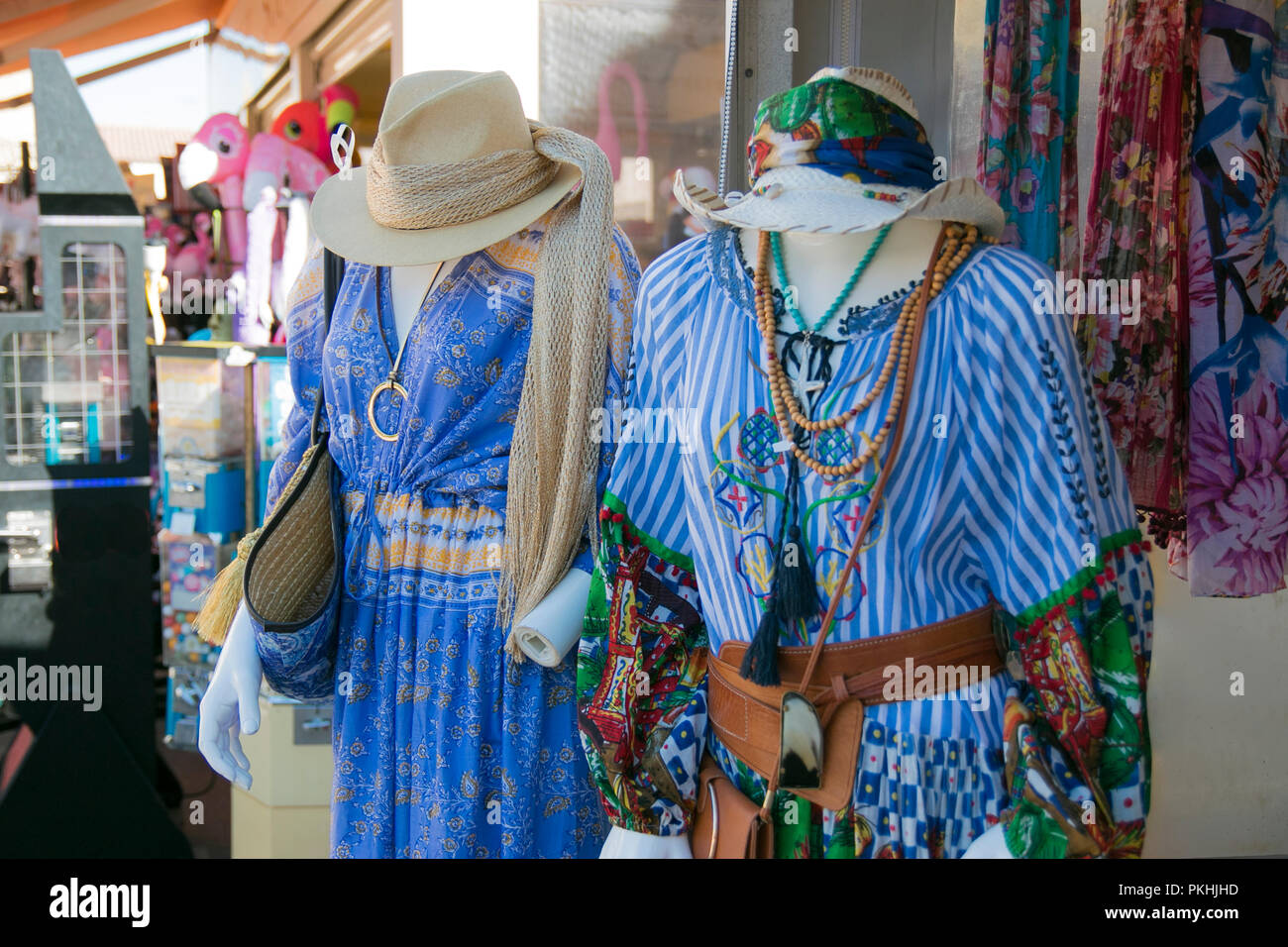 Hippie Clothing Shop Stock Photos Hippie Clothing Shop Stock