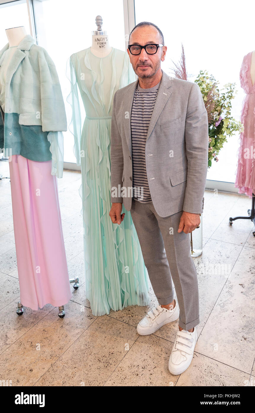 New York Ny September 10 2018 Designer J Mendel Attends Presentation Of His New Collection During New York Fashion Week Spring Summer 2019 At Standard East Village Penthouse Stock Photo Alamy