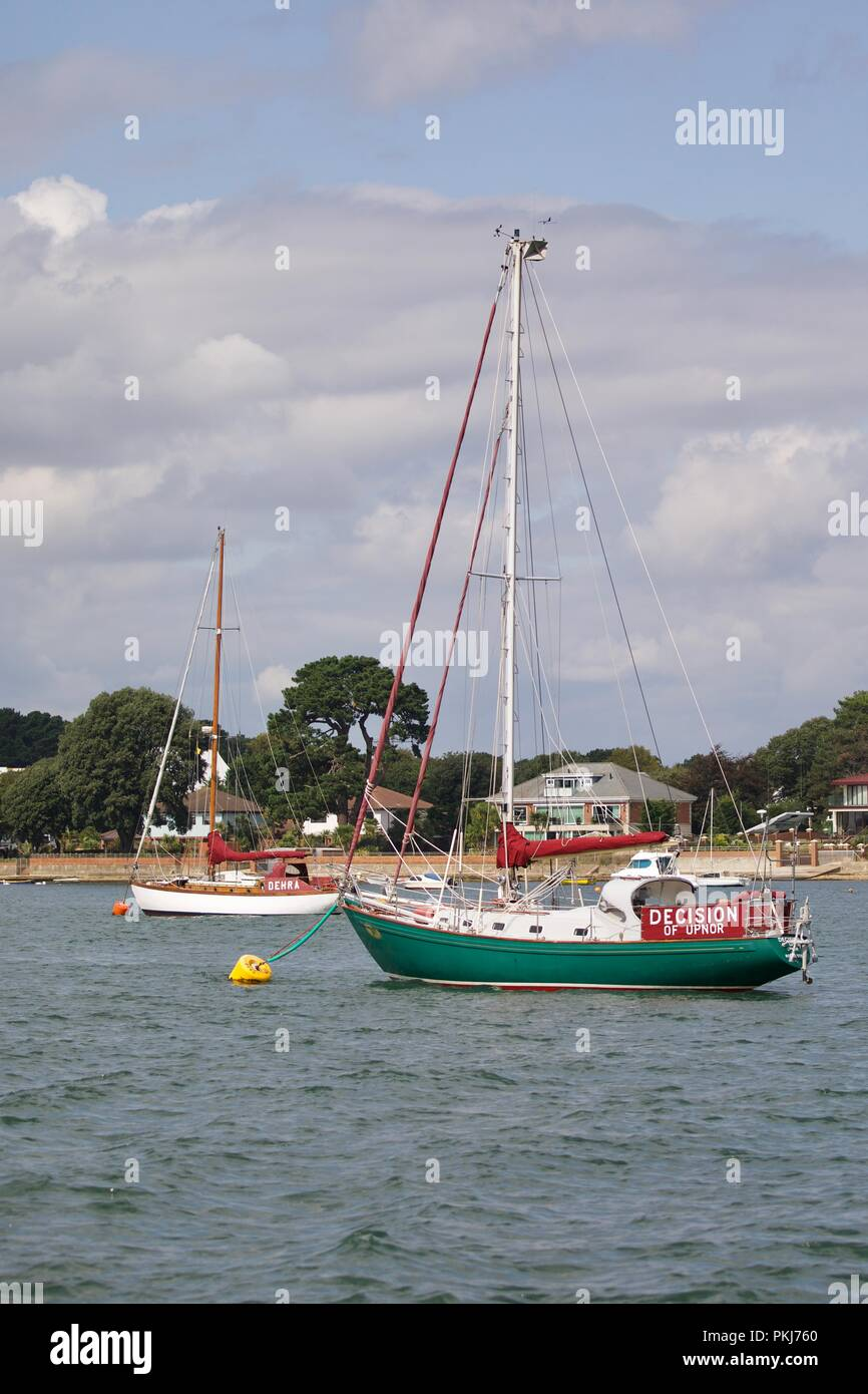 Rival 36, Decision of Upnor - Stock Image