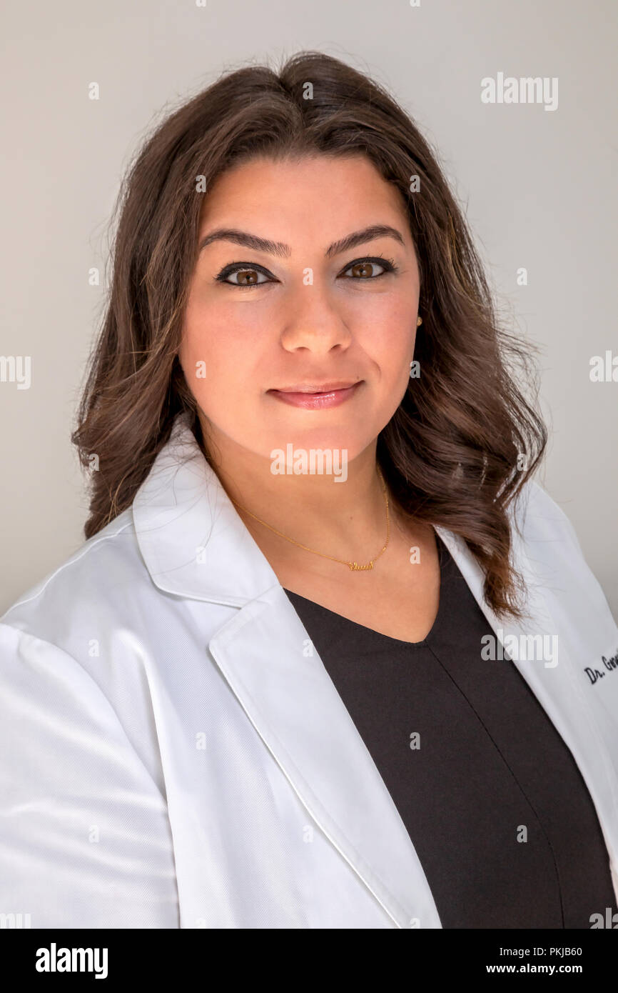 Genral female physician - Stock Image