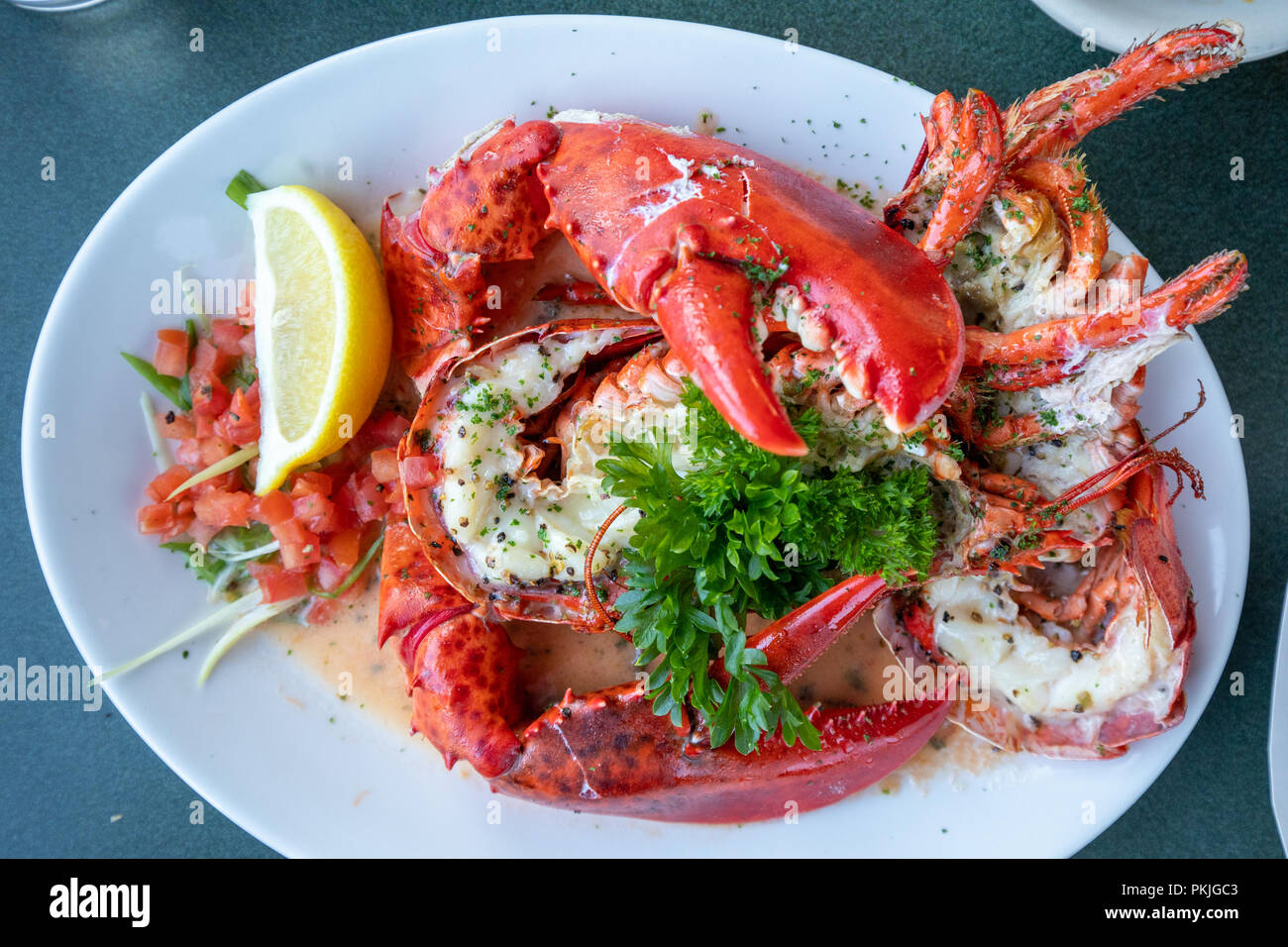 Lobster Usa Food Stock Photos & Lobster Usa Food Stock Images - Alamy