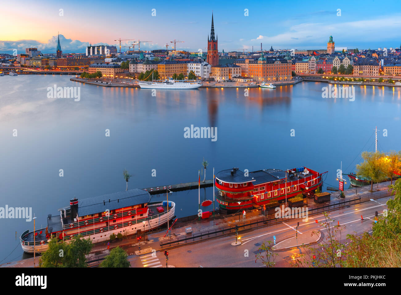 Gamla Stan in Stockholm, Sweden Stock Photo
