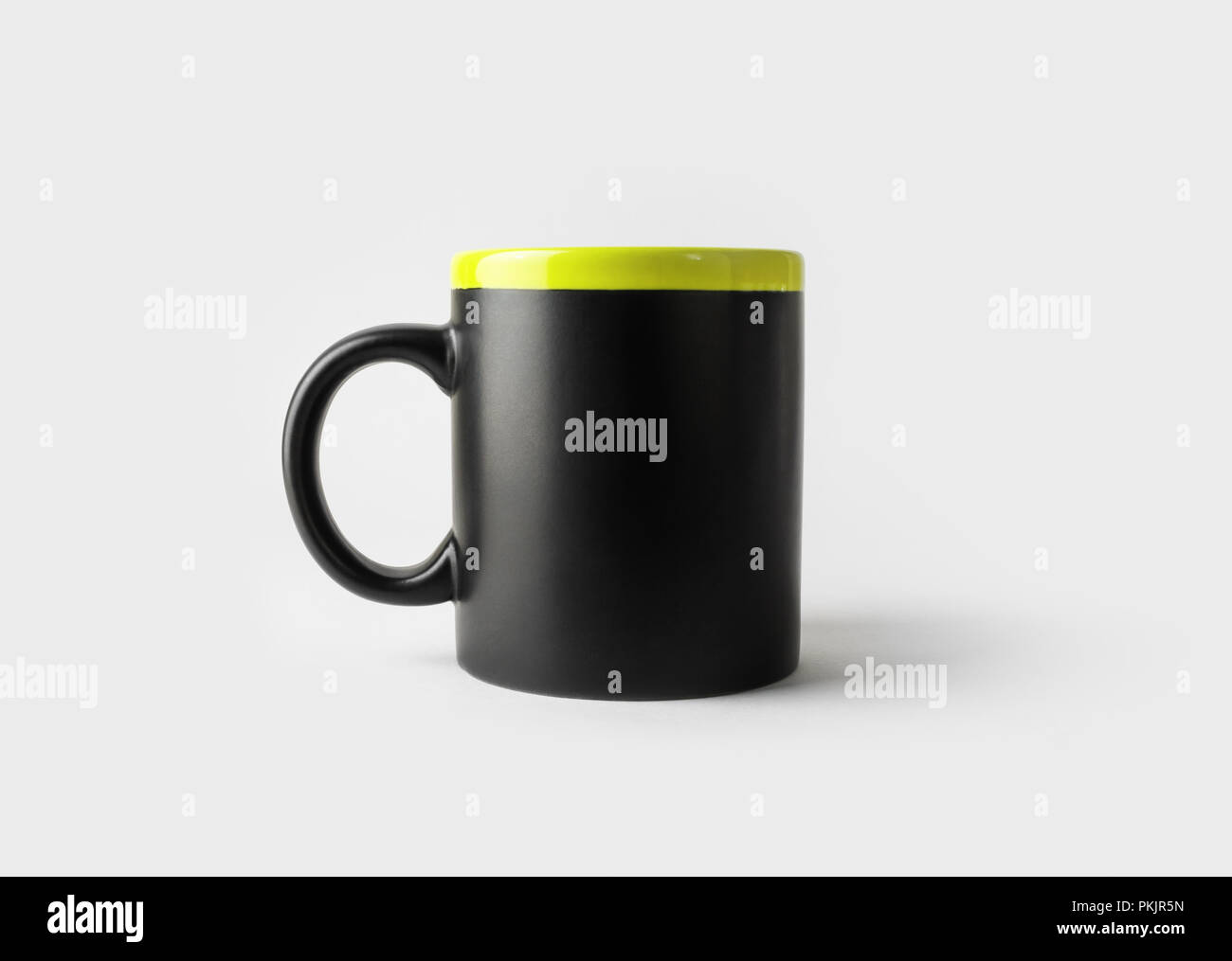 1d6966d0696 Blank black mug for coffee or tea. Cup mock-up. Responsive design ...