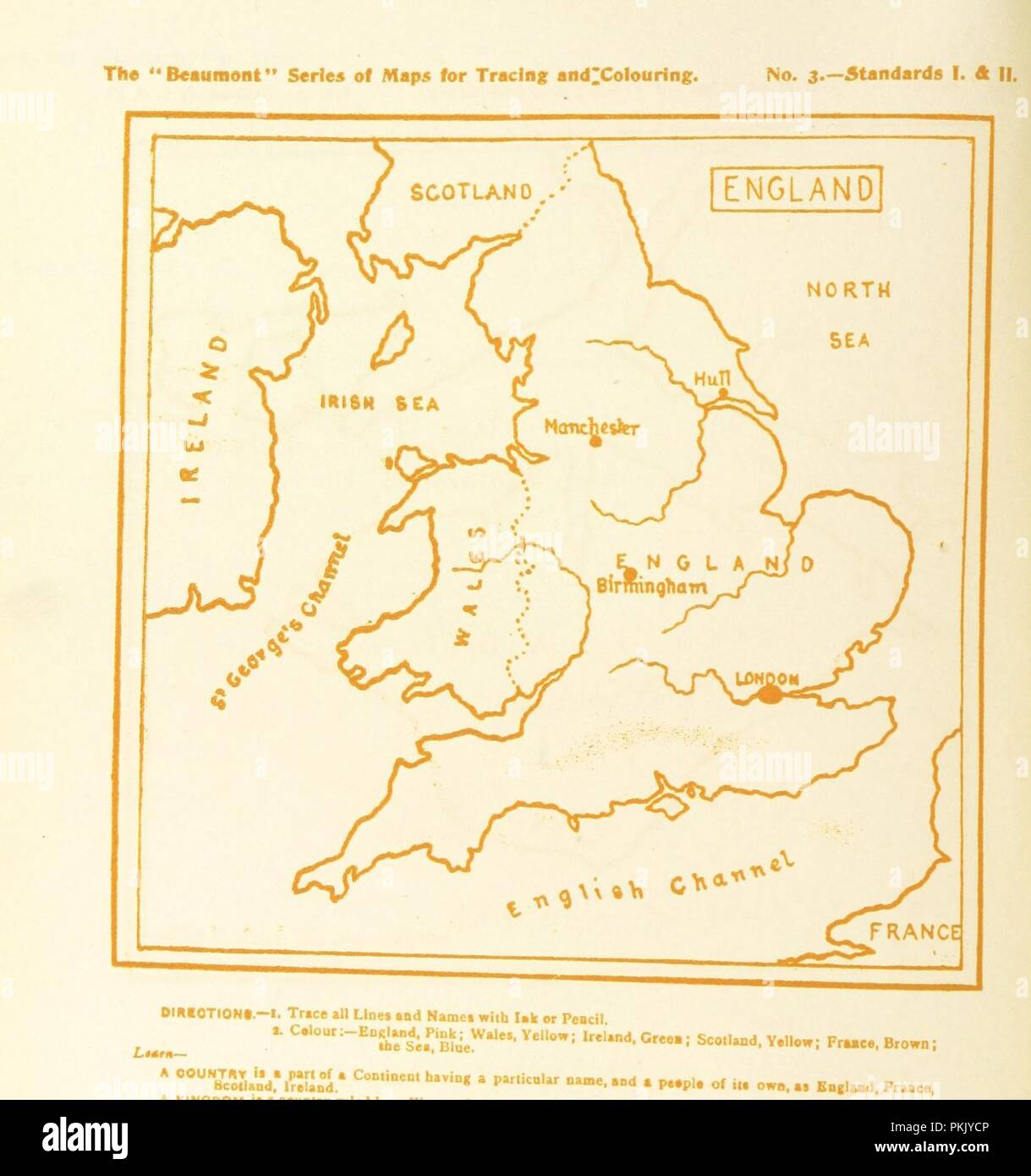 Image from page 20 of \'How to draw and colour a Map being a guide to ...