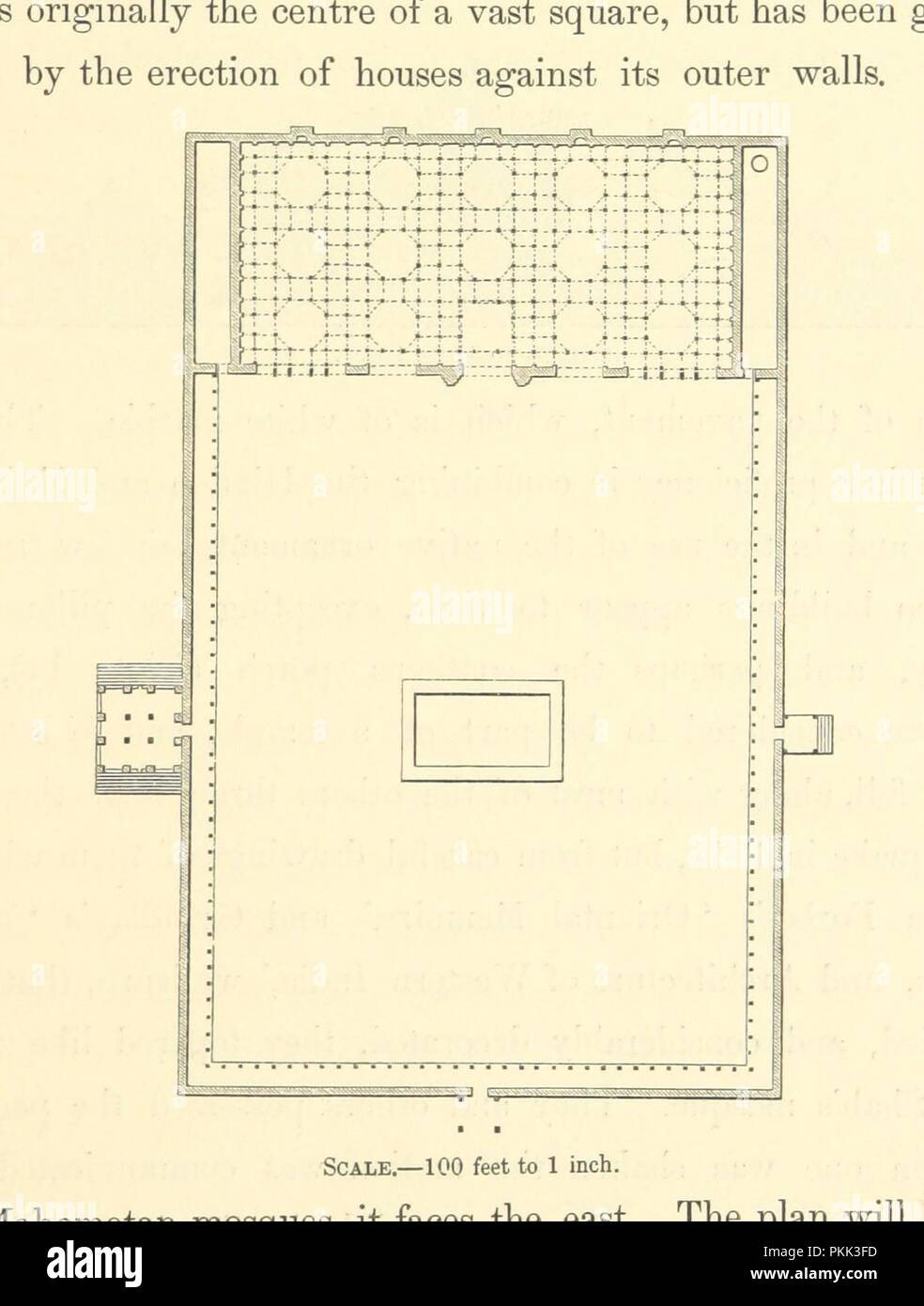 Image  from page 69 of 'Architecture at Ahmedabad, the Capital of Goozerat, photographed by Colonel Biggs, . With an historical and descriptive sketch, by T. C. H., . and architectural notes by J. Fergusson, etc' by The B0036. - Stock Image