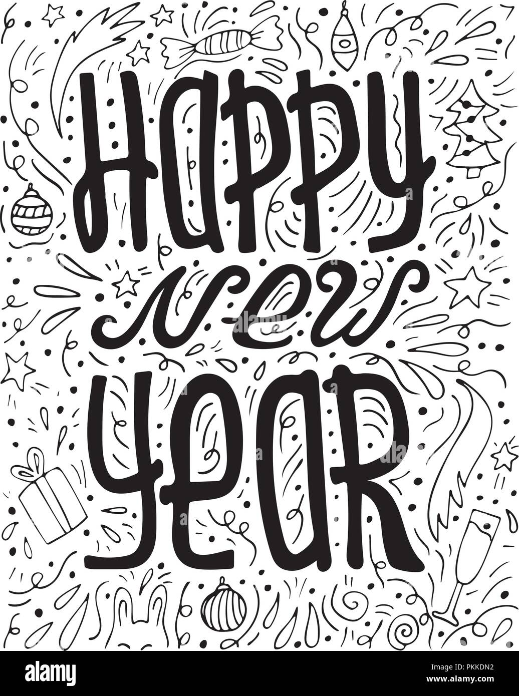 Happy New Year Doodle 29
